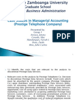 Case Study - Prestige Telephone Co.