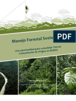 Manejo Forestal Sostenible WWF
