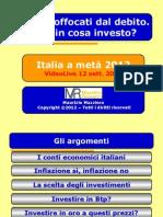 Italia economia a metà 2012 - Slide VideoLive 12092012