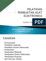 Pelatihan Pembuatan Alat Elektronika