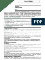 La Norme OHSAS 18001