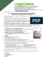 Introduction Letter - Napkin Incinerator