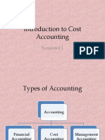 Cost Accounting Intro
