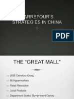 Carre Four' s Strategies China