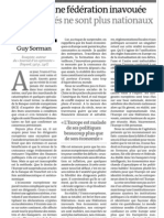 20120912 LeMonde Editorial Futuro Federal UE No Solo Mercado