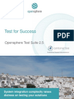 Opensphere Integration Test