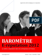 Barometre E Reputation 2012