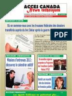 Bulletin Accès Canada News