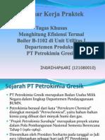 Seminar Kerja Praktek (Tugas Khusus)