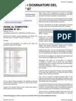 Guida al Computer - Lezione 67 - Il Sistema Operativo
