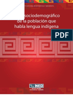 Perfil Sociodemográfico Indígena