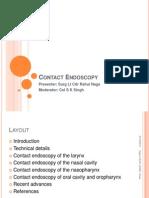 Contact Endoscopy
