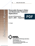 Nrel Renewable Ene for Water