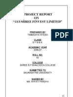 Jayshree Finvest Ltd