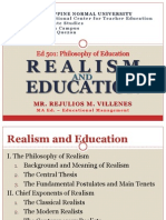 Realism and Education