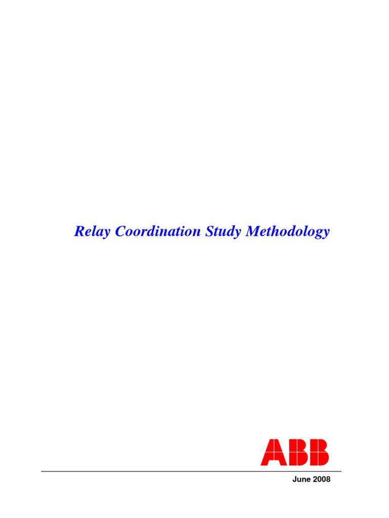 Relay+Coordination+Methodology   Relay   Transformer