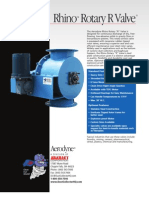 Rhino Rotary Valve for Low Abrasive Material Handling and Collection   Aerodyne