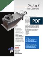 StopTight Slide Gate Valve for Material Flow Control | Aerodyne