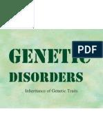Genetic Disorders PowerPoint