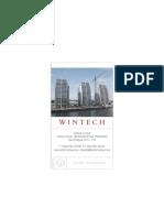 Wintech Group Brochure