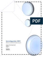 Investigacion Modelo Vista Controlador