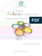 Paint Color Guide From Tiffany Brooks