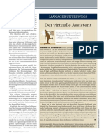 Agent CS - Manager Magazin - Der Virtuelle Assistent