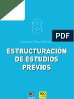CARTILLA- ESTRUCTURACIÓN ESTUDIOS PREVIOS