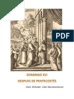 Domingo XVI. Card. Schuster