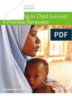 2012 Progress Report on Committing to Child Survival