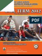 2012 Fall Book