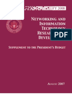 FY 2008 Supplement to the President's Budget