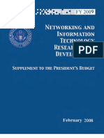 FY 2009 Supplement to the President's Budget