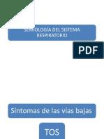 SEMIOLOGÍA DEL SISTEMA RESPIRATORIO