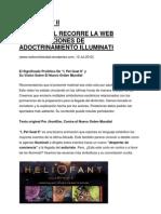 Adoctrinamiento Iluminati por la Web