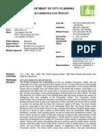 Los Angeles Planning Commission staff report on proposed NFL stadium