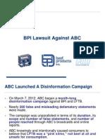 BPI Press Conference Presentation