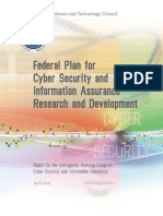 Federal Plan for Cyber Security and Information Assurance Research and Development