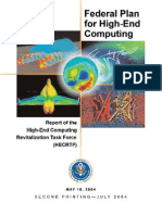 Federal Plan for High-End Computing