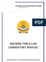 Machine Tools LabManual JWFILES