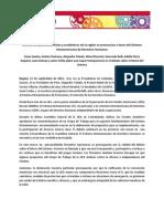 Comunicado Declaración Bogota 11.09.2012