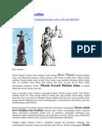 Mitologi Dewi Keadilan (IBD)