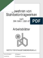 DIN1045-1 - Arbeitsblatt-Stahlbetontragwerke