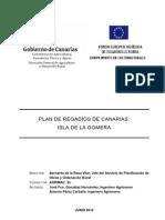 Plan Regadios La Gomera