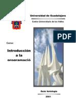 CC102 INTRODUCCION A LA PROGRAMACIÓN