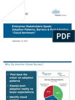 Enterprise Cloud Stakeholders Speak