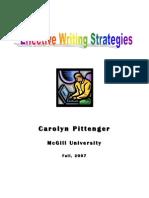 Effective Writing Strategies