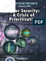 PITAC Report - Cyber Security- A Crisis of Prioritization