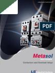 Contactor Ls Metasol MS_Catalog_E_0909