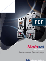 Contactor Ls Metasol MS_Catalog_E_0909
